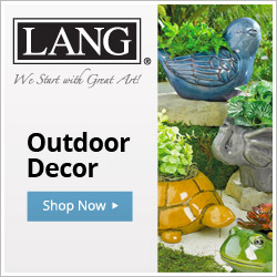 Bring LANG Art to your yard with our Outdoor Decor!