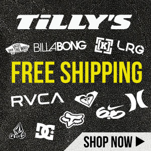 Shop at Tillys.com. $5 Shipping!