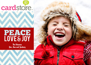 70% off Holiday Cards & Invites at Cardstore, Use Coupon Code: CCN2170, Valid thru 11/16/12 at 5am E