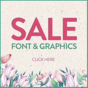 SALE!! 97% OFF Fonts & Graphics