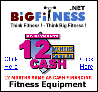 Fitness Equipment 12 Months Same As Cash