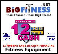 Fitness Equipment 12 Months Same As Cash