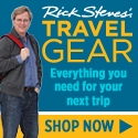 Shop for travel gear at Rick Steves Travel Store