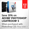 30% off Lightroom 2 with purchase of Photoshop