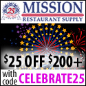 $5 off orders of $50 at MissionRS.com;