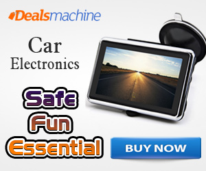 Hot Selling! Super Low-price for the Safe, Fun, Essential Car Electronics at Dealsmachine.com!