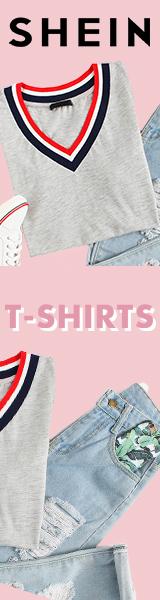 Fantastische Angebote auf T-Shirts! Besuchen Sie de.SheIn.com Zeitlich begrenztes Angebot!