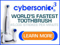 Cybersonic Toothbrush - Now Just $39.95