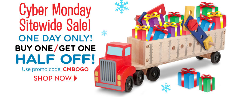 cyber monday deal: melissa and doug