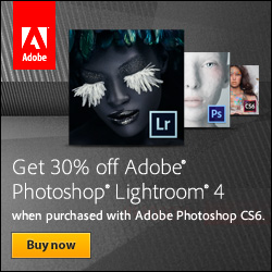 30% off Lightroom 3 with purchase of Photoshop
