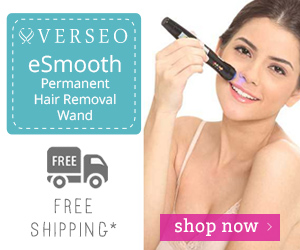 Verseo eSmooth Permanent Hair Removal Wand