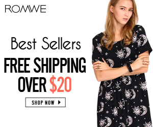 romwe big deals, at lowest price!