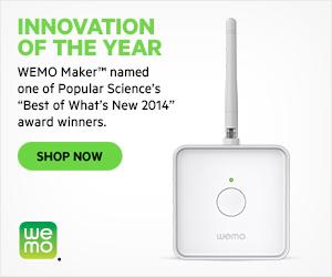 WEMO Maker Popular Science Award