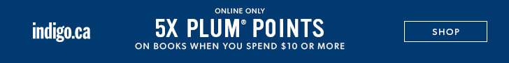 5X Plum Points when you spend $10 or more on books!
