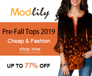 Modlily Pre-Fall Tops 2019 Cheap & Fashion UP TO 77% OFF