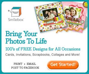 Bring your photos to life with Smilebox cards, invitations, scrapbooks, collages and more.