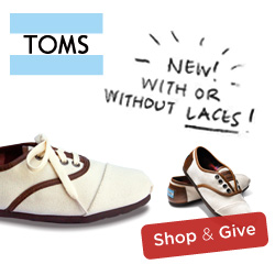 $5 Off TOMS Youth Products