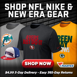 Shop Fanatics Official NFL Team Gear from Nike and New Era