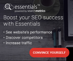 Searchmetrics Essentials - Boost your SEO success with Essentials