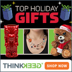 thinkgeek,  geek,  nerd,  think geek,  minecraft,  star wars,  star trek,  portal,  video games,  movies,  tolkin,  lego,  nerf,  marvel,  comics,  kitchen,  holiday decor,  decor,  black friday,  deals,  promotion,  site wide,  holiday,  Mobile,  Big Bang Theory,  geek,  nerd,  portal,  game of thrones,  scifi,  science,  space,  nasa,  doctor who,  firefly,  shipping,  flat rate,  free shipping,  christmas,  cyber monday,  green,  free