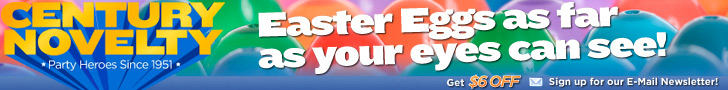 Easter Fun at Century Novelty
