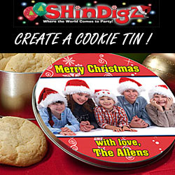 Create your own cookie tin! ~ Shindigs