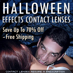 Order Vampire and Scary Contacts Online