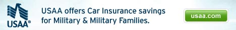 USAA offers car insurance savings for military
