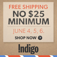 Free Shipping, No $25 Minimum! 3 Days Only: June 4-6th.