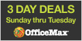 List of OfficeMax Back to School Supplies Sales and Deals – 9/1/13 – 9/7/13