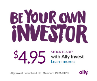 Open an Ally Invest brokerage account!
