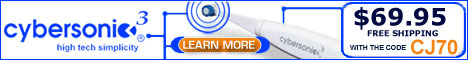Cybersonic Toothbrush - Now 60% Off