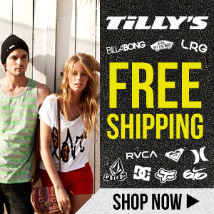 Tilly's Free Shipping