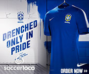Nike Brazil 2013 Authentic Away Jersey