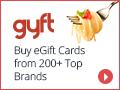 Buy eGift Cards from Top Restaurant Brands at Gyft.com