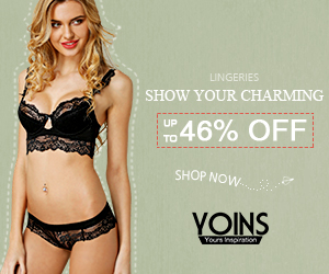 up to 46% off for the Lingeries