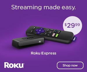 Roku Express - Only $29.99