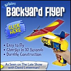 Backyard Flyer airplane