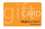Nutrisystem Gift Card
