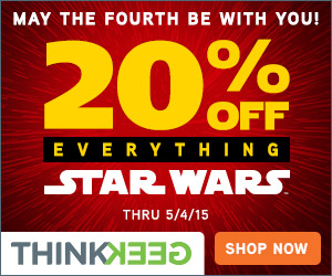 20% Off Everything Star Wars