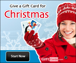 Use GiftCards.com for all your holiday shopping!