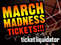 NCAA March Madness basketball tickets