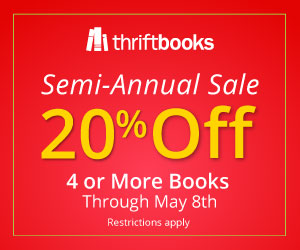 20% off orders of 4 or more books