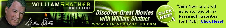 William Shatner DVD Club