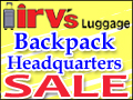 FALL 09 COUPON: 15% Off at Irv's Luggage