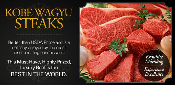 Wagyu Steaks - Kobe-Style