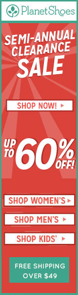 Up to 60% off Shoes in our Semi-Annual Clearance Sale!