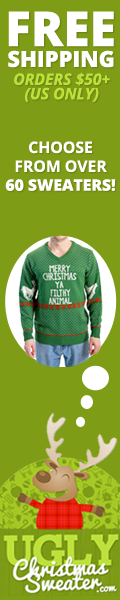 Get your Ugly Christmas Sweater at UglyChristmasSweater