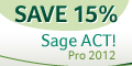 Save 15% on ACT! 2010 Today