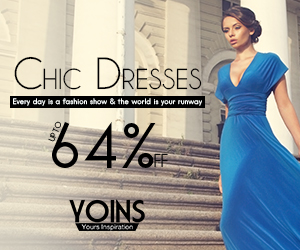 up to 64% off for Chic Dress